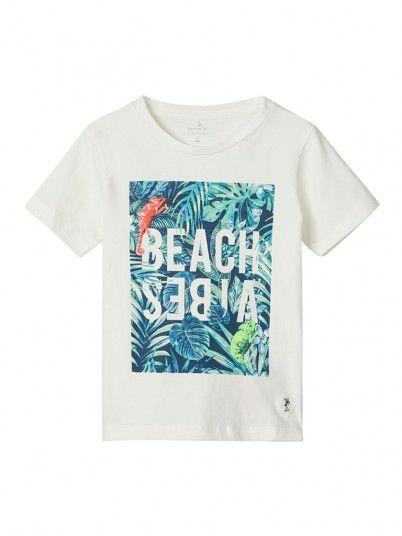 T-Shirt Boy Cream Name It