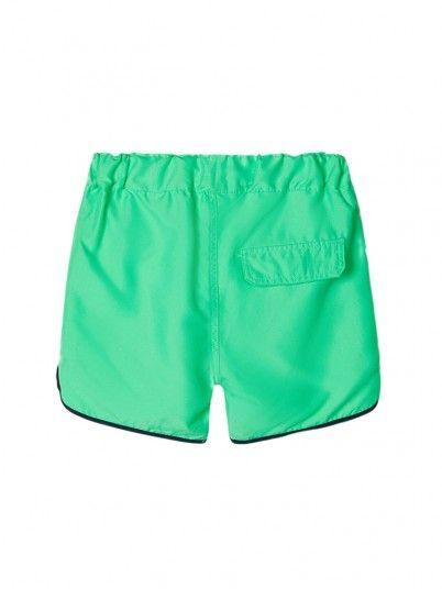 Pantalones Cortos Niño Verde Name It