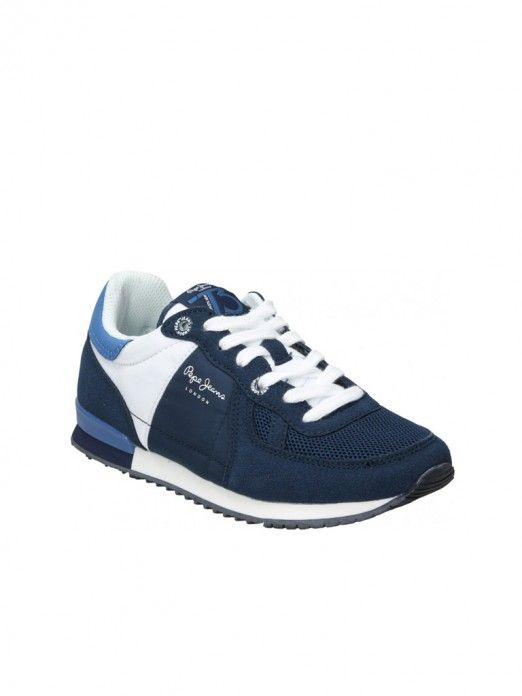 Sneakers Boy Navy Blue Pepe Jeans London