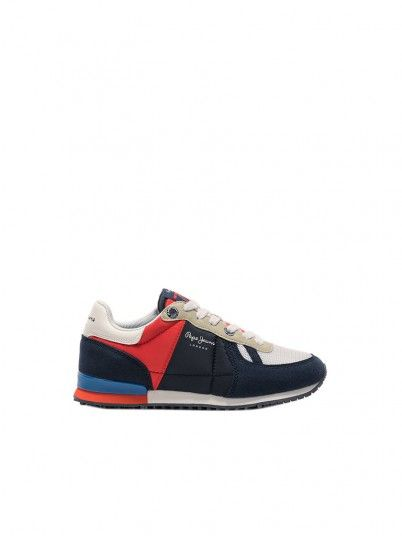 Tenis Niño Multicolor Pepe Jeans London