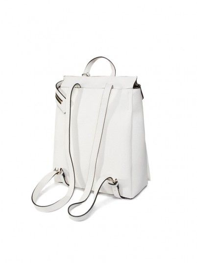 Schoolbag Woman Sided White Calvin Klein