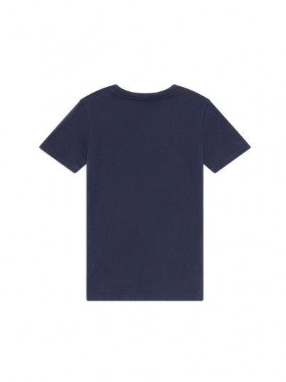 T-Shirt Ragazzo Anton Blu Marino Pepe Jeans Kids