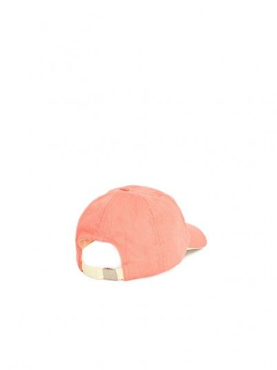 Hat Girl Coral Pepe Jeans London