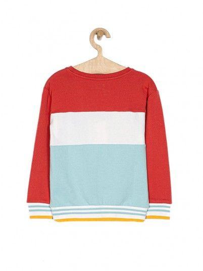 Sweatshirt Girl Blue Pepe Jeans London