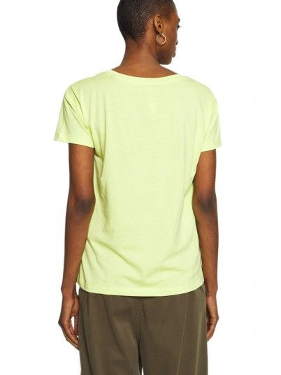 T-Shirt Donna Armani Verde Armani Exchange