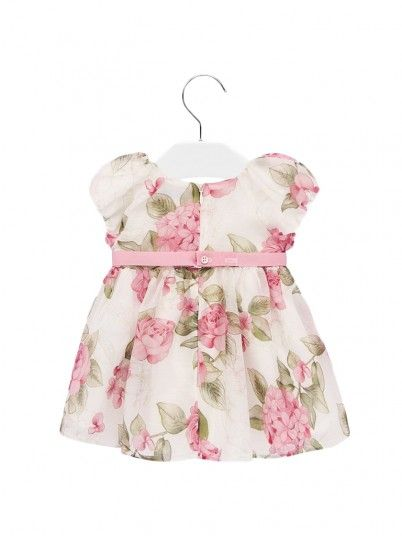 Dress Baby Girl Floral Mayoral
