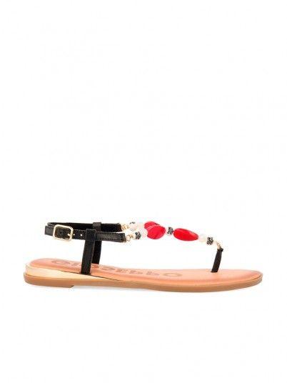 Sandalias Mujer Rojo Gioseppo