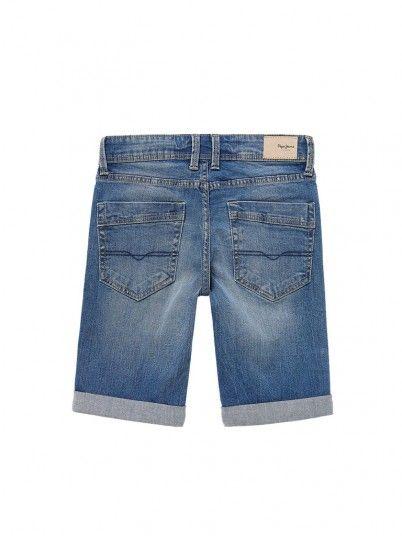 Pantaloncini Ragazzo Becket Jeans Pepe Jeans Kids