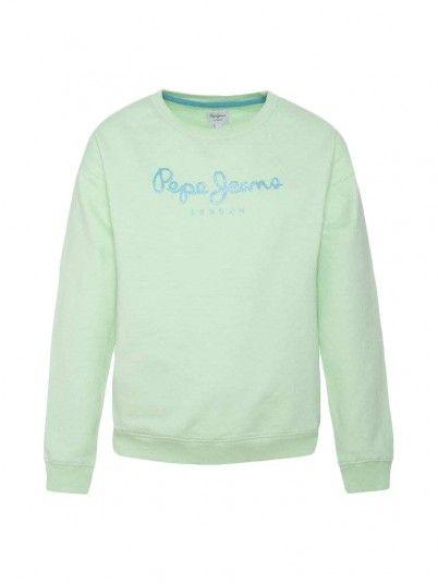 Sweatshirt Menina Rose Pepe Jeans