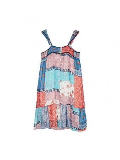Dress Girl Rosalia Multicolor Pepe Jeans Kids