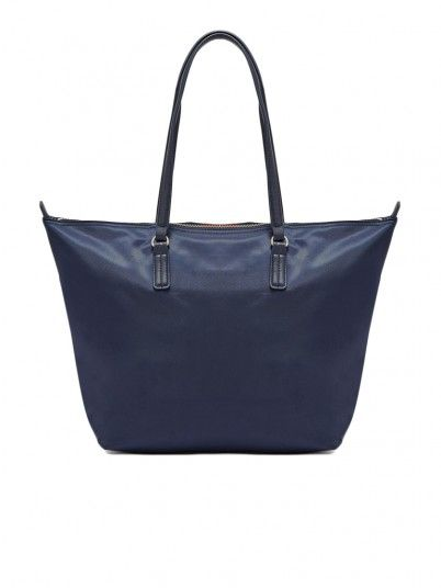 Handbag Woman Navy Blue Tommy Jeans