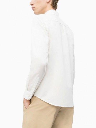 Camicia Uomo Calvin Bianco Calvin Klein