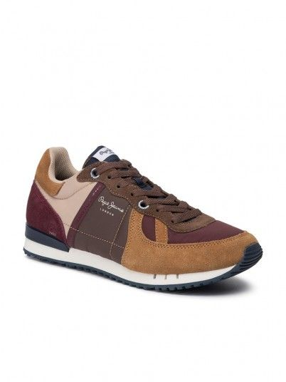 Sneakers Man Brown Pepe Jeans London