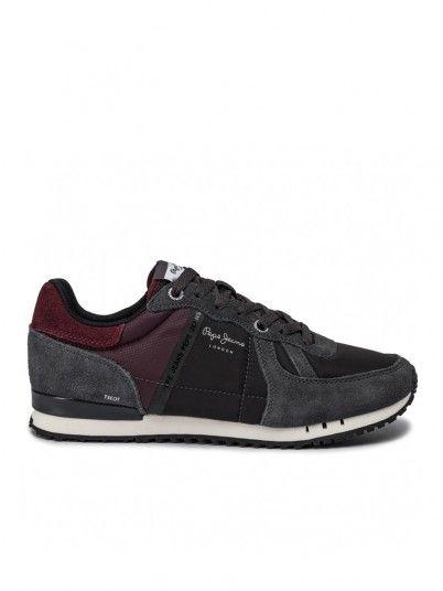 Sneakers Uomo Grigio Pepe Jeans London