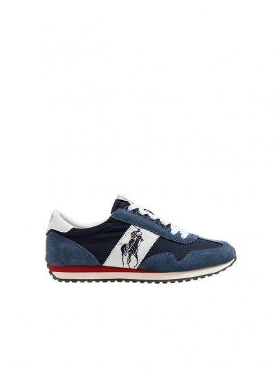 Sneakers Man Navy Blue Polo Ralph Lauren