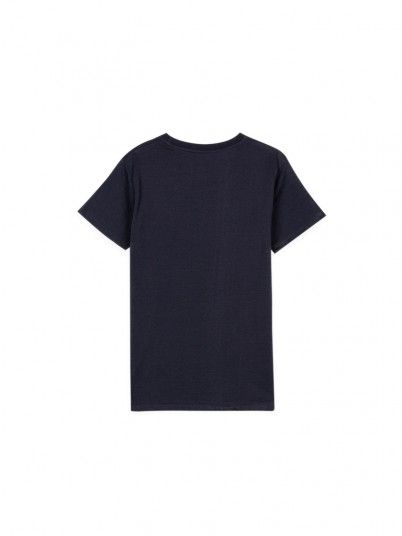 T-Shirt Boy Navy Blue Tiffosi Kids
