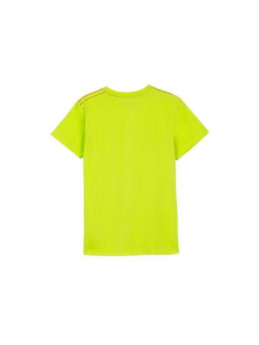 T-Shirt Boy Green Tiffosi Kids