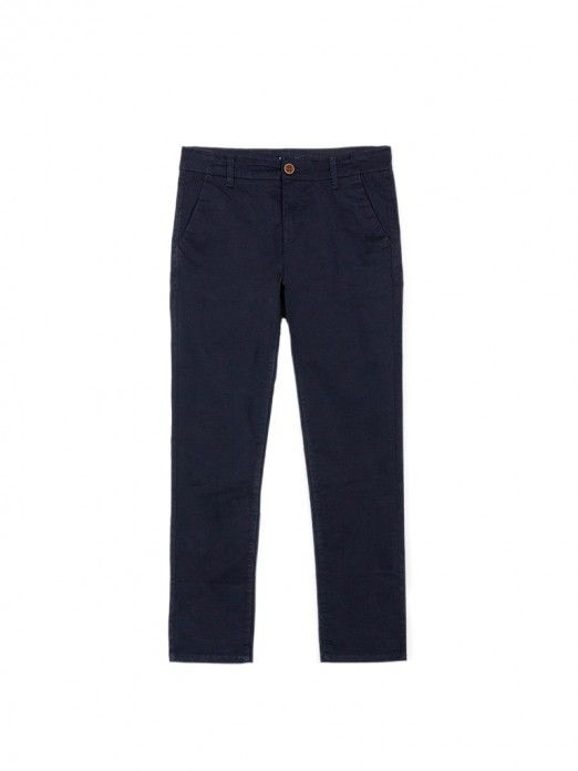 Pants Boy Navy Blue Tiffosi Kids