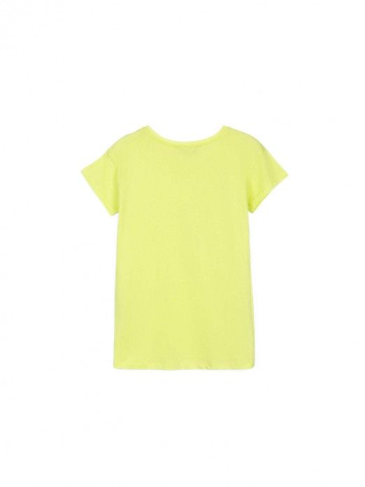 T-Shirt Girl Green Tiffosi Kids