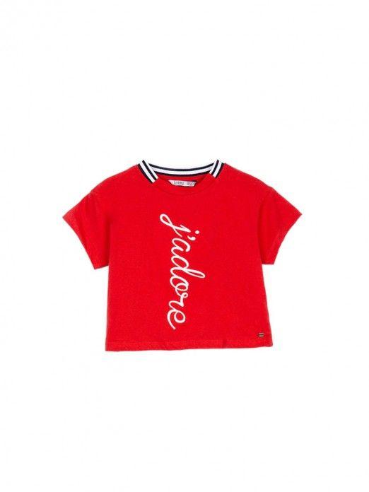 T-Shirt Girl Red Tiffosi Kids