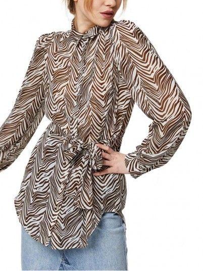 Shirt Woman Koal Brown Vila