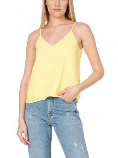 Shirt Woman Agatha Yellow Only