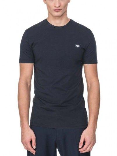 T-Shirt Man Antony Dark Blue Antony Morato
