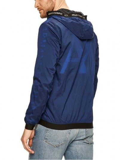 Jacket Man Blue Armani Exchange