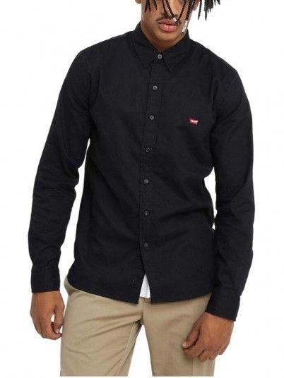 Camisa Hombre Negro Levis