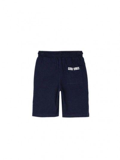 Pantalones Cortos Niño Azul Marino Tiffosi Kids