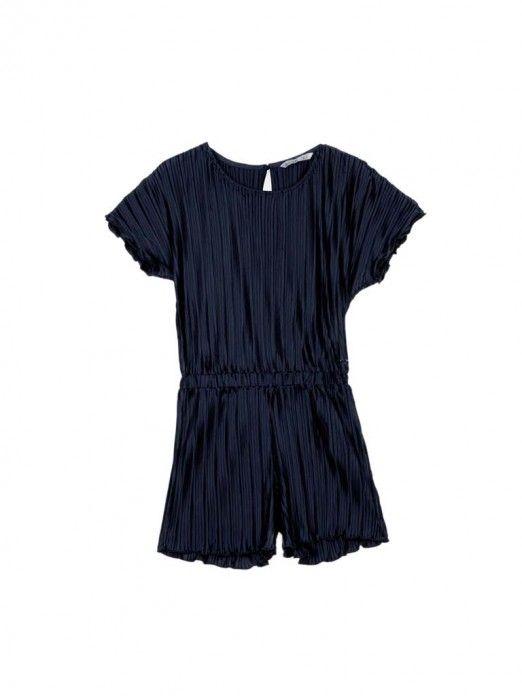 Overall Girl Navy Blue Tiffosi Kids