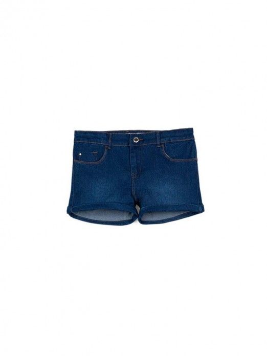 Shorts Girl Dark Jeans Tiffosi Kids