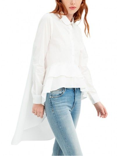 Camicia Donna Bianco Fracomina