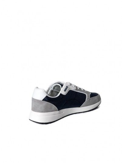 Sneakers Man Navy Blue Antony Morato