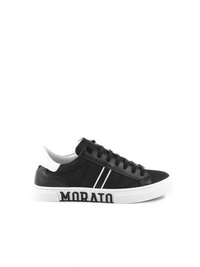 Sneakers Man Black Antony Morato