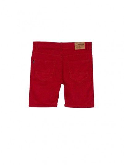 Shorts Boy Red Tiffosi Kids