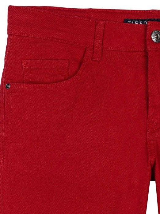 Pantalones Cortos Niño Rojo Tiffosi Kids