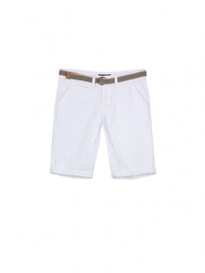 Shorts Boy White Tiffosi Kids