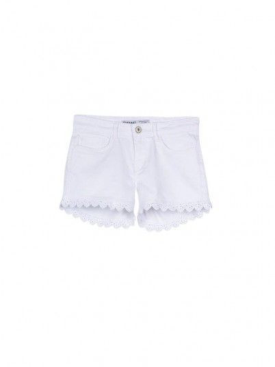 Shorts Girl White Tiffosi Kids