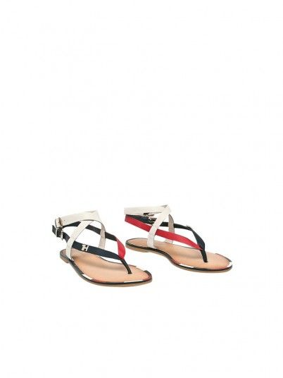 Sandalias Mujer Multicolor Tommy Jeans