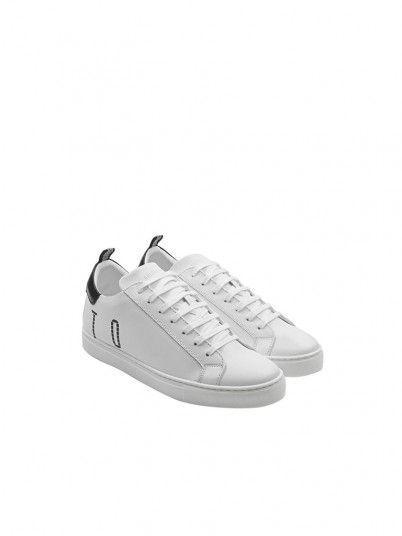 Sneakers Man White Antony Morato