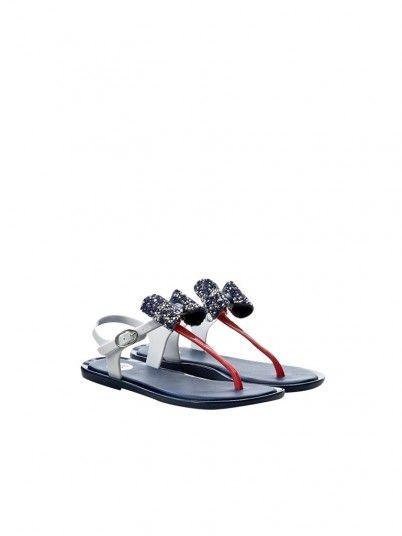 Sandals Girl Navy Blue Gioseppo