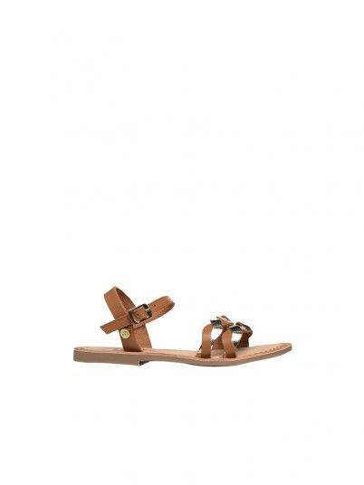 Sandals Girl Camel Gioseppo