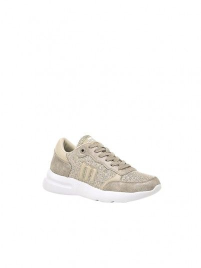 Sneakers Donna Beige Mtng