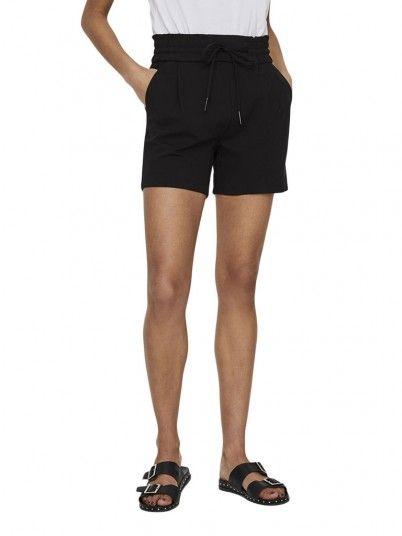 Shorts Woman Black Vero Moda