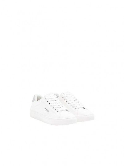 Sneakers Woman White Pepe Jeans London
