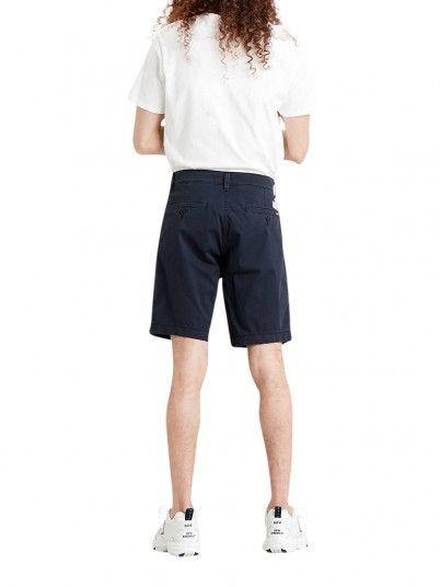 Shorts Man Navy Blue Levis