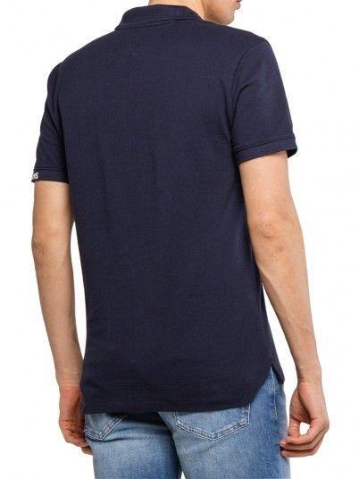 Polo Hombre Azul Marino Tommy Jeans