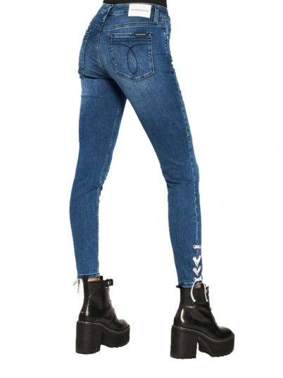 Jeans Mulher Ankle Calvin Klein
