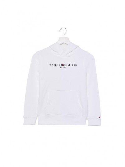 Sweatshirt Boy White Tommy Jeans Kids